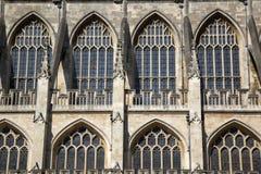 Bath Abbey Facade Royalty Free Stock Photography