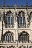 Bath Abbey Facade. England; UK Royalty Free Stock Photos