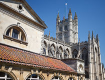 Bath Abbey, Bath in Somerset England Royalty Free Stock Photography