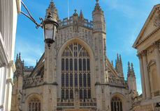 Bath Abbey. Historic abbey in Bath, England Royalty Free Stock Photo