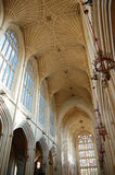 Bath Abbey inside. This photo was taken of  the inside of Bath Abbey, UK Stock Image