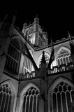 Bath Abbey at Night royalty free stock images