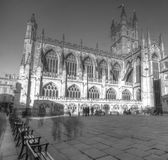 Bath Abbey in Somerset Royalty Free Stock Image