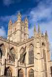 Bath Abbey Somerset England. The Abbey Church of Saint Peter and Saint Paul, Bath, commonly known as Bath Abbey, Somerset England UK Europe royalty free stock images