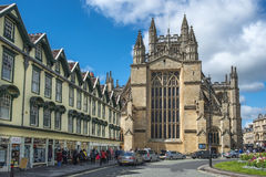 Bath Abbey, Somerset, England Royalty Free Stock Image