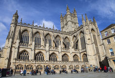 Bath Abbey in Somerset Stock Photos