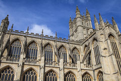Bath Abbey in Somerset Stock Photos