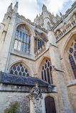 Bath Abbey in the south west of england Stock Images