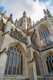 Bath Abbey in the south west of england Stock Image