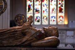 Bath Abbey tomb Stock Photo