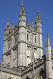 Bath Abbey Tower, England Stock Photo