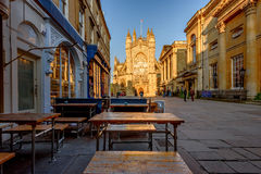 Bath Abbey UK Stock Photography