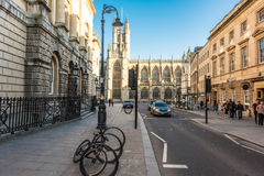Bath Abbey, United Kingdom. The Abbey Church of Saint Peter and Saint Paul, Bath, commonly known as Bath Abbey, is an Anglican parish church and a former Royalty Free Stock Image
