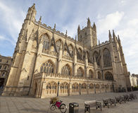 Bath Abbey Wide Angle Royalty Free Stock Images