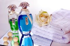 Bath Accessories Royalty Free Stock Photography