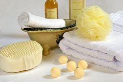 Bath Accessories 4 Royalty Free Stock Photo