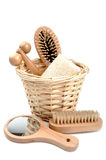 Bath accessories isolated Stock Photography