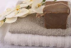 Bath accessories Stock Image