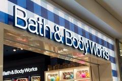 Free Bath And Body Works Logo On Bath And Body Works Shop Stock Photo - 145234210
