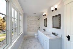 Bath avec le double bassin Image stock