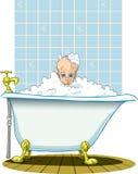Bath avec le petit enfant Photographie stock