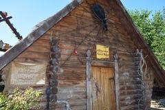 Bath Baba Yaga. Village Ataman Museum. Royalty Free Stock Images