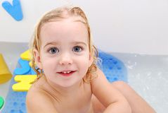 Bath baby Stock Photos