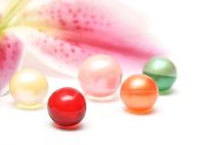 Bath balls Stock Images