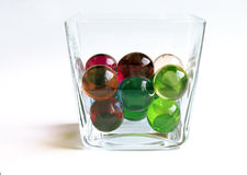 Bath balls in a container Stock Photography