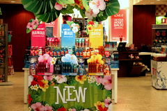 Bath and Body Works Shop. Cute Bath and Body Works Shop in Mall Stock Photos