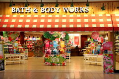 Bath and Body Works Shop Stock Image