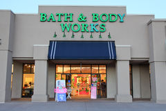 Bath & Body Works store Stock Images