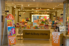 Bath and Body Works store Stock Image