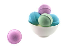 Bath bombs Royalty Free Stock Photography