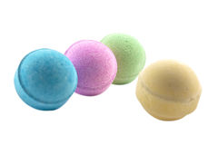 Bath bombs Royalty Free Stock Photo