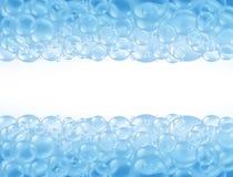 Bath bouillonne des lessives de savon Image libre de droits