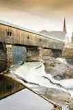 Bath Bridge. (1832), New Hampshire, USA Royalty Free Stock Photography