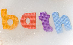 Bath with bubbles Royalty Free Stock Photography