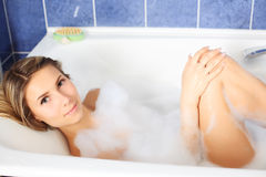 Bath care Royalty Free Stock Photography