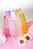 Bath care cosmetics Stock Image