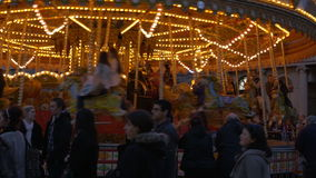 Bath Carousel stock video footage