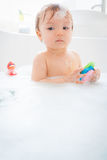 Bath child Stock Images