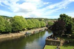 Bath City centre - park, UK Royalty Free Stock Photography