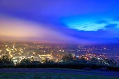 Bath city skyline Royalty Free Stock Photo