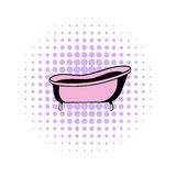 Bath comics icon. On a white background Royalty Free Stock Image