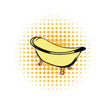 Bath comics icon. On a white background Royalty Free Stock Photo