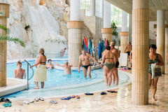 Bath complex, Miskolctapolca Royalty Free Stock Photography