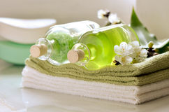 Bath cosmetic Royalty Free Stock Photography