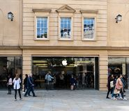 Bath d'Apple Store photos stock