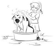 Bath day Royalty Free Stock Photo
